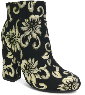 Bamboo Black & Gold Namaste Boot