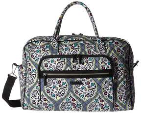 Vera Bradley Iconic Weekender Travel Bag Weekender/Overnight Luggage - HERITAGE LEAF - STYLE
