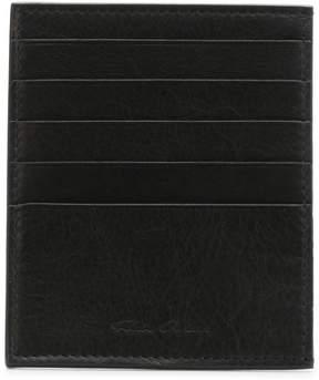 Rick Owens logo cardholder wallet