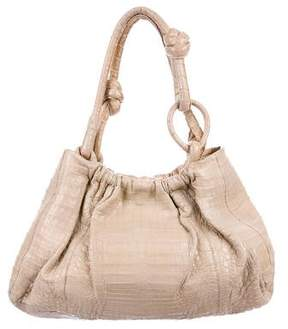 Nancy Gonzalez Crocodile Knot Tote