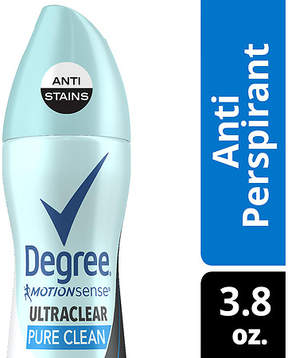 Degree UltraClear Antiperspirant Deodorant Dry Spray Black + White Pure Clean