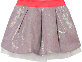 Billieblush Multi Iridescent Sweat Skirt