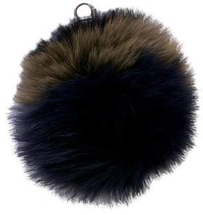 Sonia Rykiel Fox Ball Keychain
