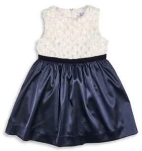 Florence Eiseman Toddler's & Little Girl's Belted Velvet Ribbon Dress