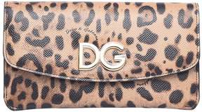Dolce & Gabbana Leopard Leather Wallet - LEOPARDATO - STYLE