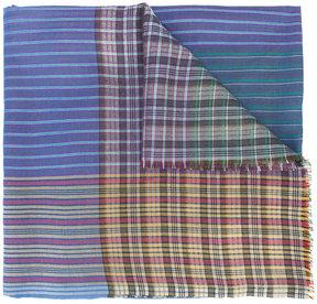 Etro color block scarf