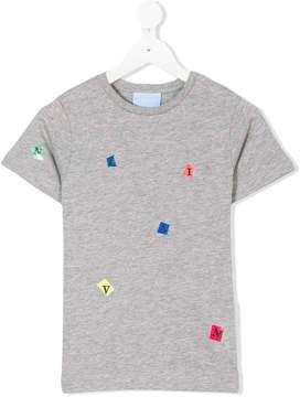 Lanvin Enfant scrabble print T-shirt