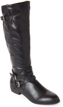 Madden-Girl Black Opus Riding Boots
