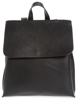 Sole Society Selena Faux Leather Backpack - Black