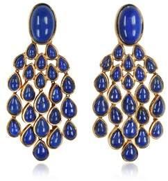 Aurelie Bidermann Women's Blue Steel Earrings.