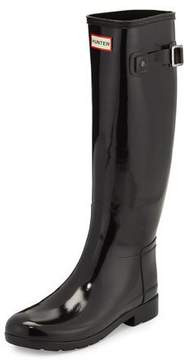 Hunter Original Refined Gloss Rain Boot, Black
