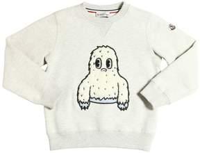 Moncler Yeti Patch Cotton Sweatshirt