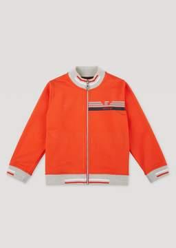 Armani Junior Stretch Cotton Sweatshirt
