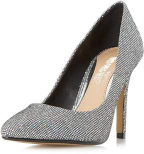 Head Over Heels *Head Over Heels by Dune Silver 'Alice' High Heels Court Shoes