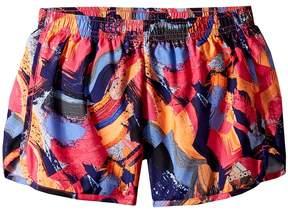 adidas Kids Breakaway Printed Woven Shorts Girl's Shorts