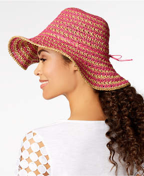 Nine West Crochet Floppy Hat