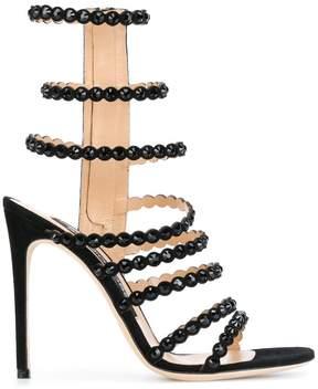 Sergio Rossi side zip stud sandals