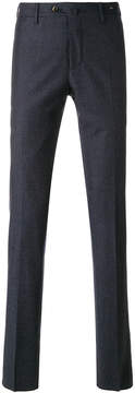 Pt01 grid pattern tailored trousers