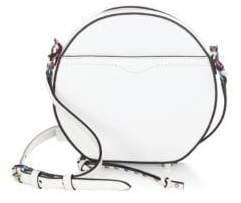 Rebecca Minkoff Boston Leather Circle Mini Bag - BIANCO - STYLE