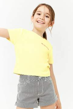 Forever 21 Girls Uh Huh Honey Graphic Tee (Kids)