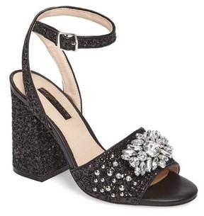 Topshop Women's Razzle Embellished Sandal