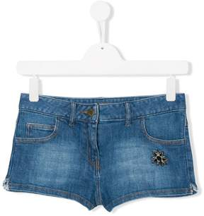 Zadig & Voltaire Kids TEEN denim shorts