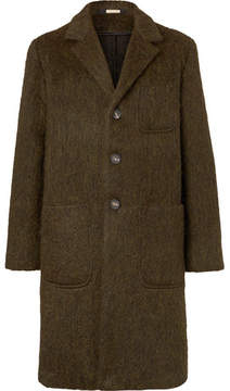 Massimo Alba Mélange Wool, Mohair And Alpaca-Blend Coat