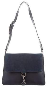 Rebecca Minkoff Large M.A.B. Shoulder Bag - BLUE - STYLE