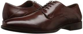 Johnston & Murphy Nolen Plain Toe Men's Lace Up Wing Tip Shoes