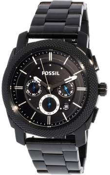 Fossil Men's FS4552 Machine Stainless Steel Watch, 45mm