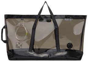 Off-White Black Medium Travel Bag