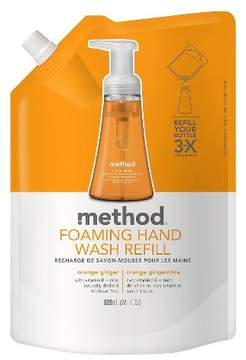 Method Products Foaming Hand Soap Orange Ginger - 28oz