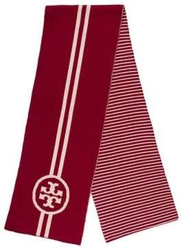 Tory Burch Knit Striped Scarf