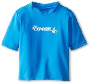 O'Neill Kids - Skins S/S Rash Tee Kid's Swimwear