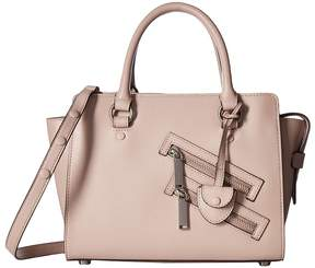 Rebecca Minkoff Small Jamie Satchel Satchel Handbags - VINTAGE PINK - STYLE