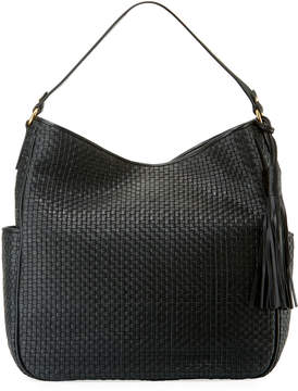 Cole Haan Gabriella Soft Weave Leather Bucket Bag