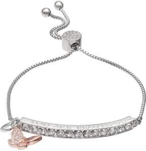 Brilliance+ Brilliance You Are Beautiful Adjustable Bracelet with Swarovski Crystals