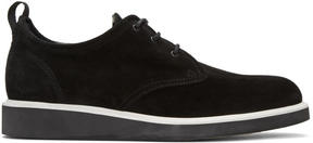 Rag & Bone Black Suede Elliot Oxfords