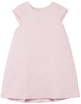 Jean Bourget Pink Jacquard Dress