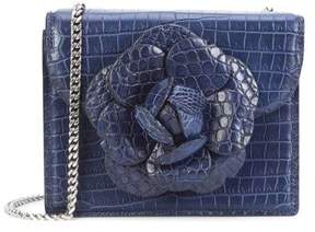 Oscar de la Renta Atlantic Alligator Mini TRO Bag
