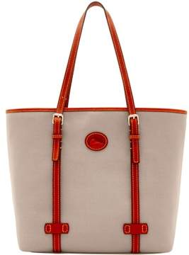 Dooney & Bourke Nylon East West Shopper Tote - GREY - STYLE