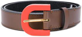 Marni contrasting buckle belt