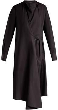 Joseph Arran cotton-poplin wrap dress