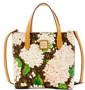 Dooney & Bourke Signature Hydrangea Mini Waverly Top Handle Bag - WHITE - STYLE