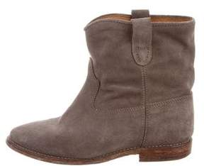 Etoile Isabel Marant Jenny Suede Ankle Boots