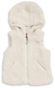 Urban Republic Little Girl's Plush Faux Fur Vest
