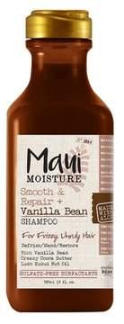Maui Moisture Smooth & Repair + Vanilla Bean Shampoo for Frizzy Unruly Hair - 13oz