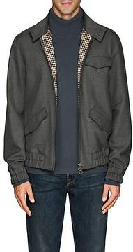 Boglioli Men's Plain-Weave Harrington Jacket