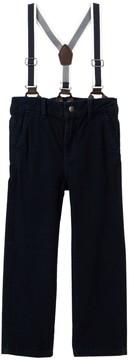Joe Fresh Suspender Corduroy Pants (Toddler & Little Boys)