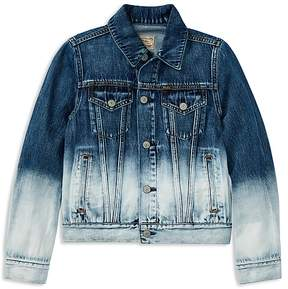 Polo Ralph Lauren Girls' Dip-Dyed Denim Jacket - Big Kid